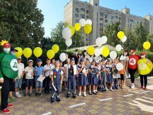 Дошкольники города Ростова-на-Дону участвуют в реализации сетевого проекта Лаборатории «Азбука безопасности» при поддержке ГИБДД