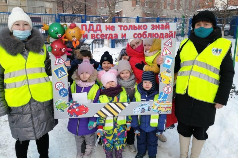 Детские сады Дона стали участниками всероссийской интернет — акции «Безопасность детей дорогах»