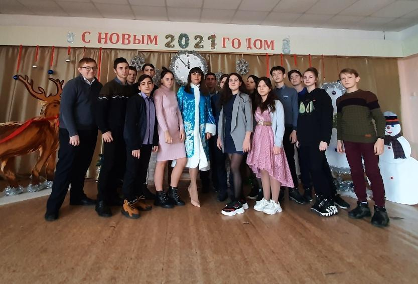 Районный конкурс на лучшее новогоднее мероприятие для старшеклассников общеобразовательных учреждений Обливского района