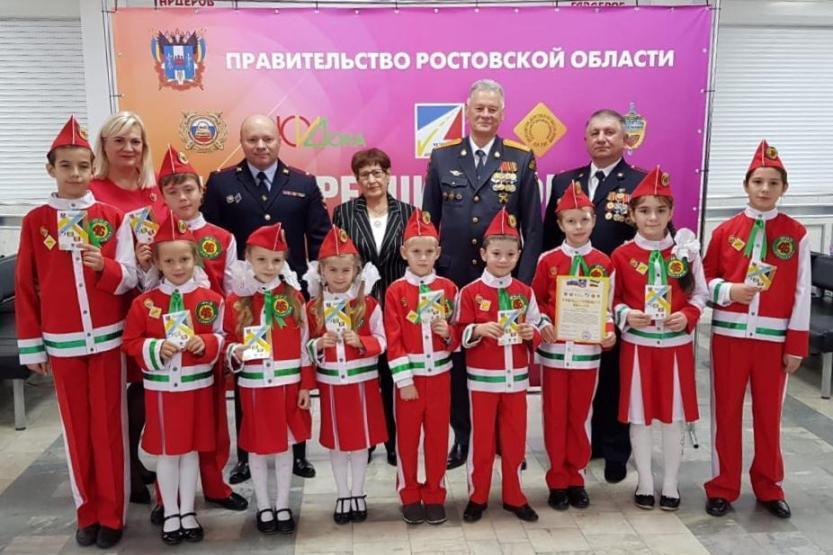 Почти 350 дипломов получили отряды ЮИД Ростовской области по итогам областного смотра готовности