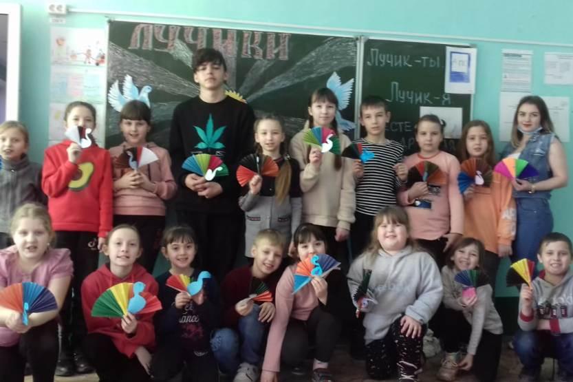 Весенние каникулы в Доме детского творчества