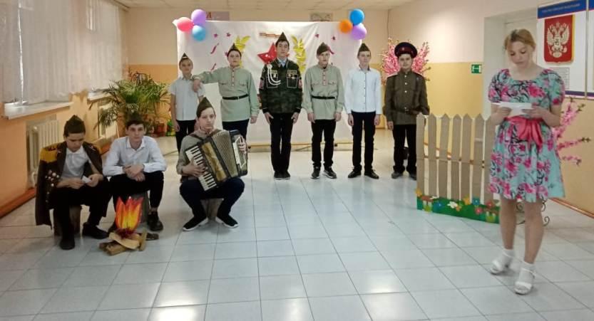 Муниципальный этап  конкурса  инсценированной песни военных лет  «Песня — спутница Победы»,  посвященного Победе в Великой Отечественной войне